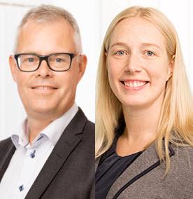 Anders Carlbom och Hillevi Söderberg