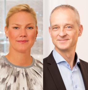 Anna Gustring Boman och Sten Levin