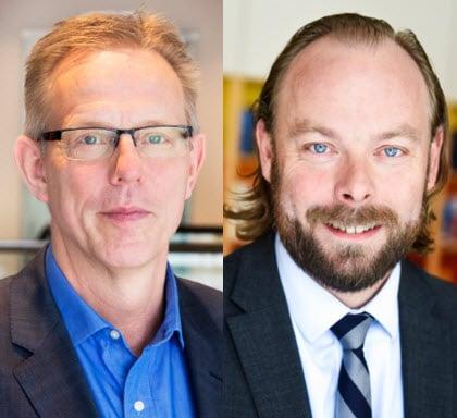 Ingemar Ritseson och Anders Månsson
